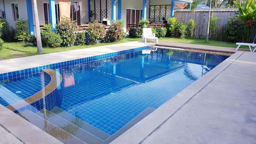 4/ Island Samui: near beach+pool+terrace+kitchen