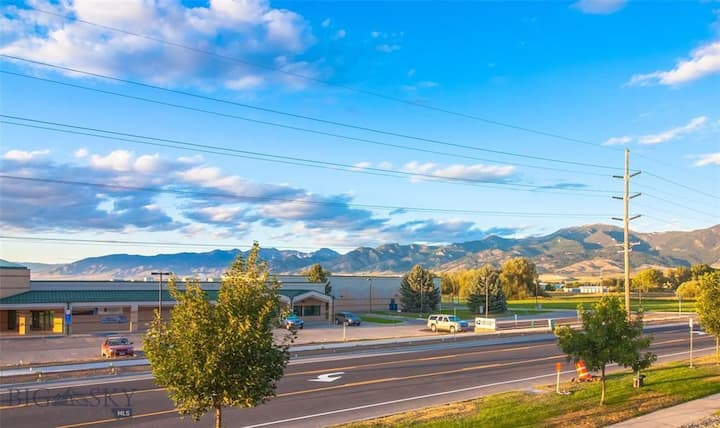 Bozeman Home with a View and Great Location