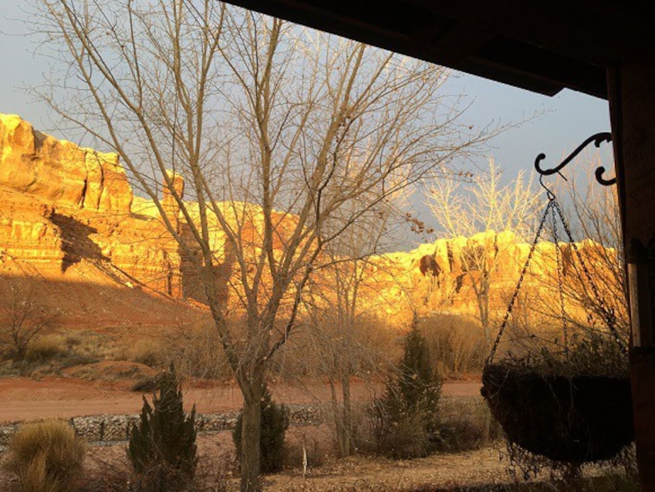 Your View from Canyon Wren Front Porch