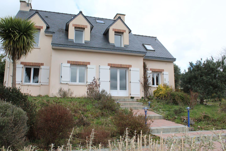 la maison côté terrasse
