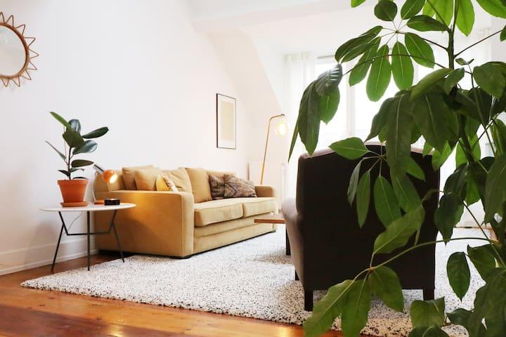 Beautiful & Luminous Apartment in St-Gilles