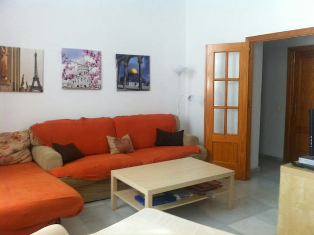 1 Room in Spacious Flat near city center - Sevilla - Apartment