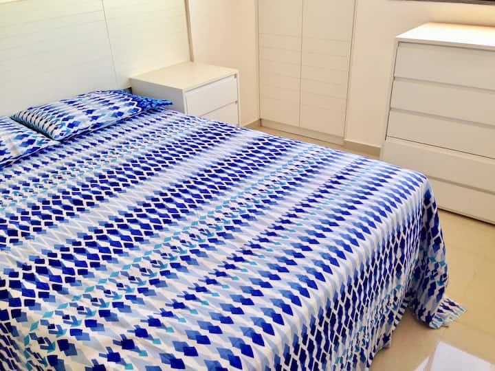 Kitnet - Suite, Sala, Cozinha - Edf. Julia Apart