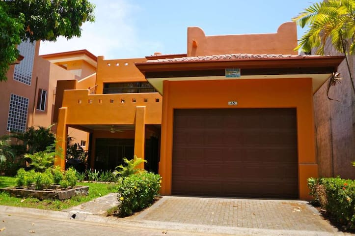 Beach House in Private Gated Community on Beach - Playa Hermosa - House