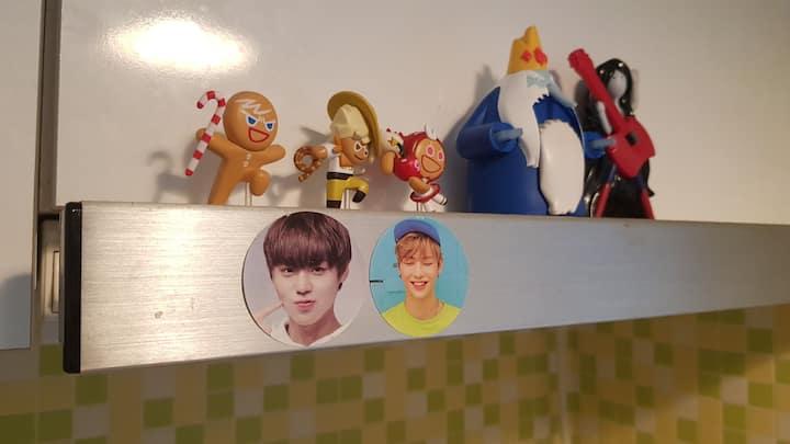 Adventuretime room :) 워너원강다니엘과 핀과제이크를 좋아하는공간이에요