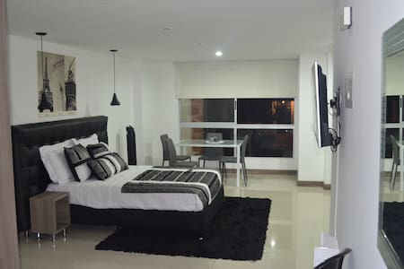 JACUZZI Private Loft Laureles ! - Medellín - Apartmen