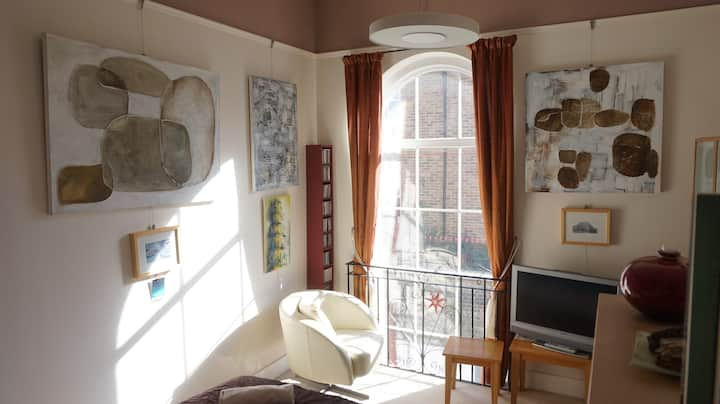 Church hall conversion in two double bedroom house