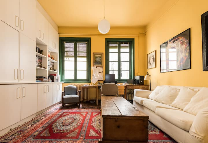 Habitación doble  confortable con baño privado.