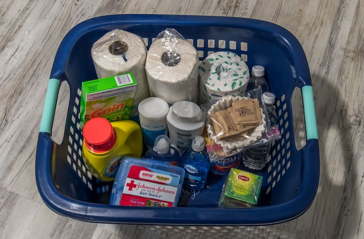 Moving to a new place can be stressful, but we hope to anticipate as many of your needs as possible by providing you with several conveniences pictured here