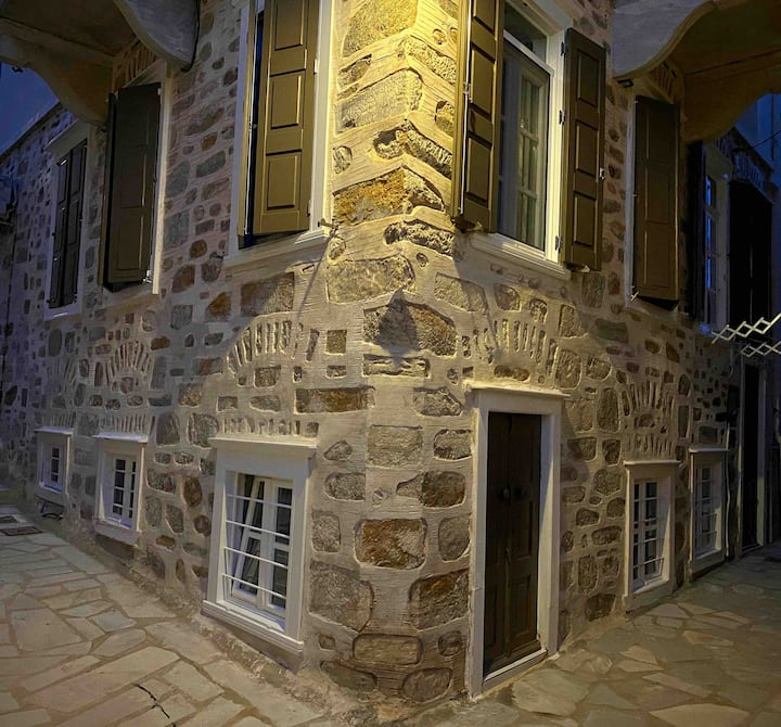 traditional house in the Vaporia