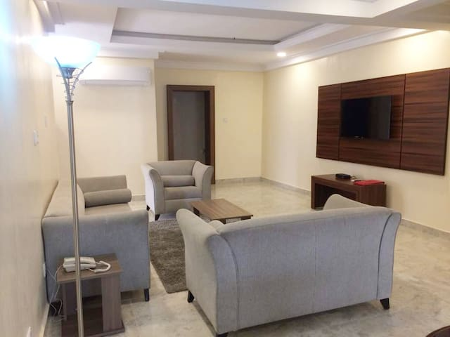 Two Bedroom Apartment (Furnished and Serviced)
