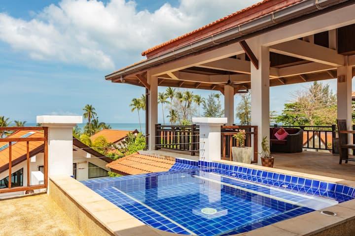 Malee Beach Pool Villa B2, Koh Lanta, Krabi
