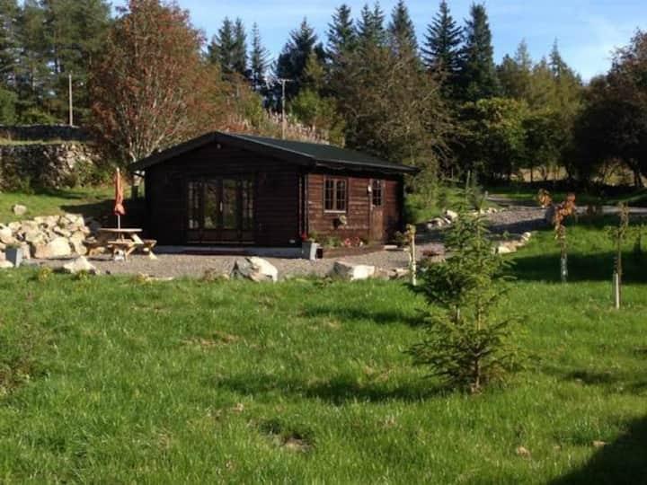 Netherdykes Hideaway log cabin