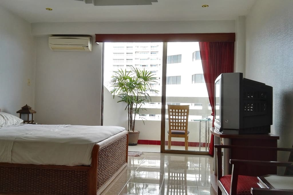 Fully furnished with spacious sea view balcony