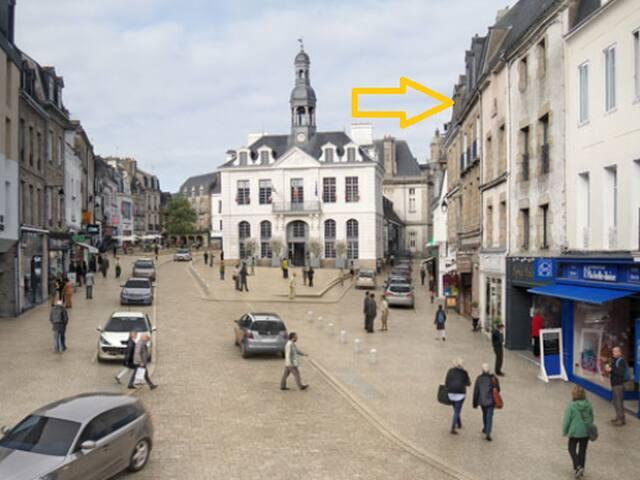 Ici, en cœur de ville // Place de La République // Mairie