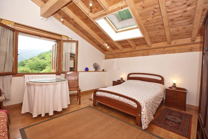 Habitación grande y luminosa - Etxalar - Penzion (B&B)