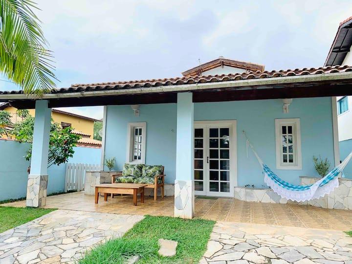 Casa Completa- Beira mar - Piscina - São Sebastiao