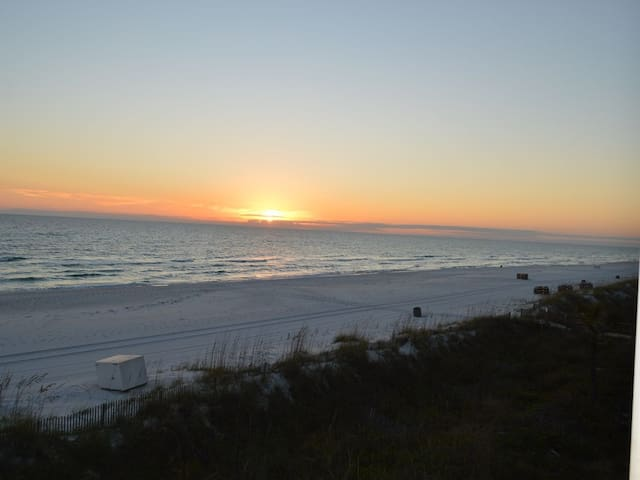 Town Home Style Condo with 2 Beach View Balconies!