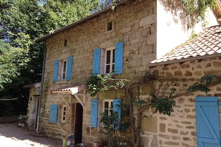 Delightful French farmhouse - Saint-Julien-le-Petit - Talo