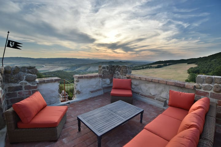 Iperbole country house, Val d'Orcia