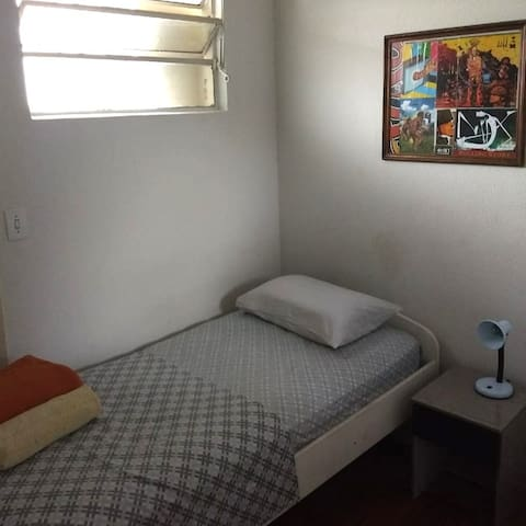 Cozy single room 1 Paulista Metro (S01)