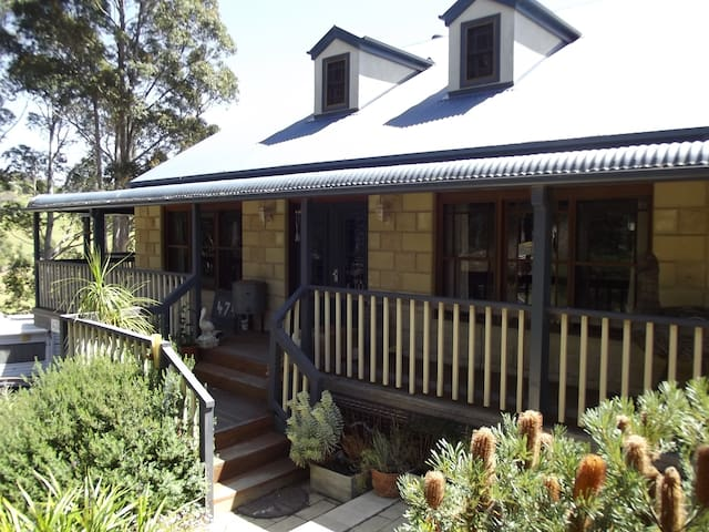 Peaceful, spacious room on rural Narooma property.