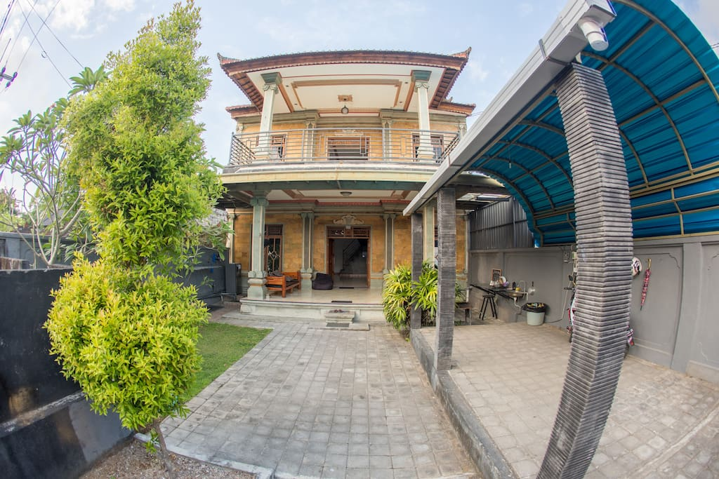 Front of home stay