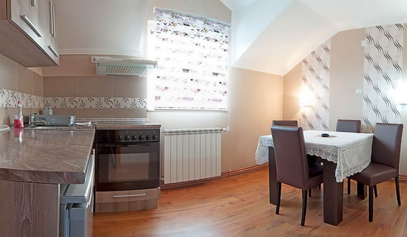 Apartment for four in Vila Boska Palic - Palić - Apartemen