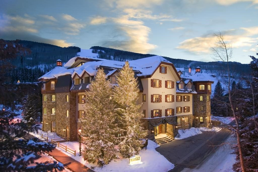 Your lovely holiday rental is only a stroll away from the chair lifts.