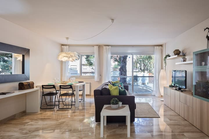 Duna bright and cozy apartment in Mataró