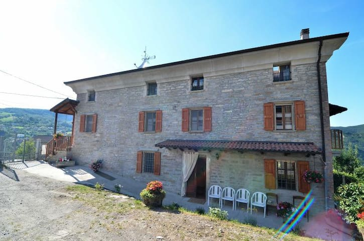 Villa Zacchi - Relax and Nature on Apennines - Bore - Huis