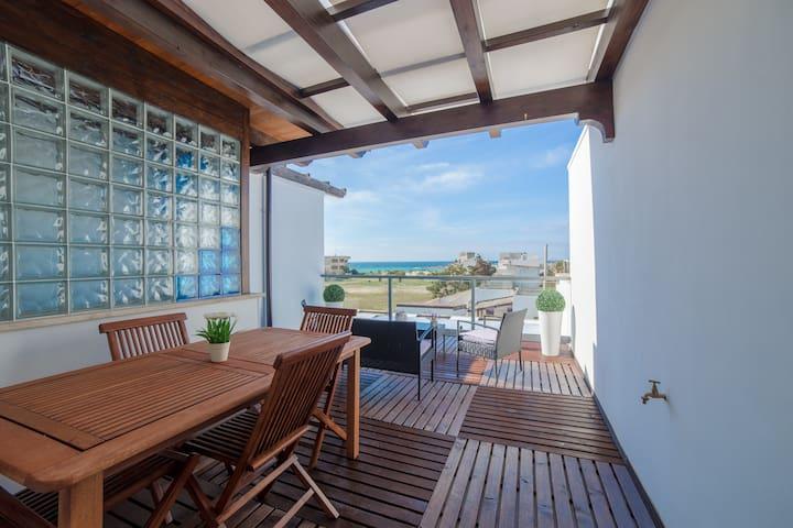 CasaVacanzeDeiBacini vista mare Porto Cesareo