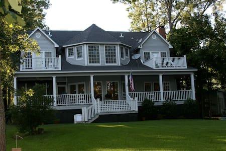 Cypress Point Lakehouse on Lake Murvaul - Gary City - Haus