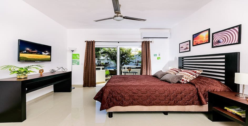May Offer!!! Modern & nice suite with pool - San Miguel de Cozumel - Byt
