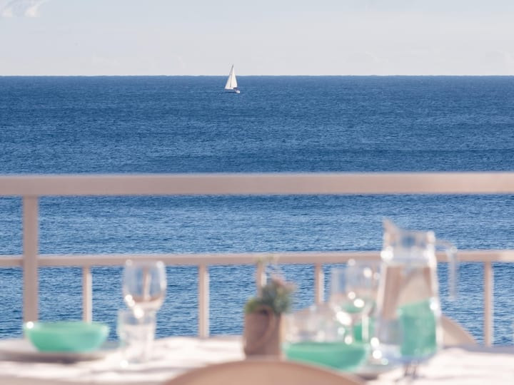Dream views on the sea shore of Platja d'Aro