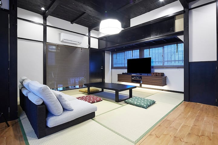 Near Skytree!Japanese style house!9ppl. available!