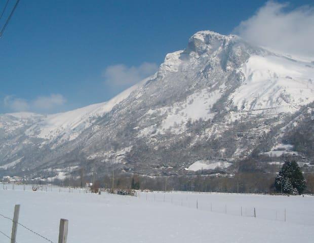 Location vacances à la montagne - Aste-Béon - Dům