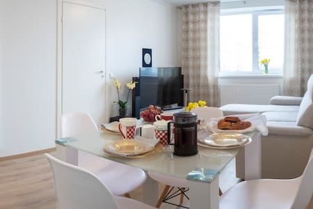 Charming flat•15min by CAR to center•Free Parking!