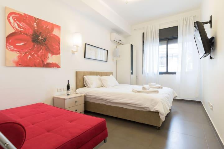 Trendy@City Center 1 Bedroom #2 - 耶路撒冷 - 公寓