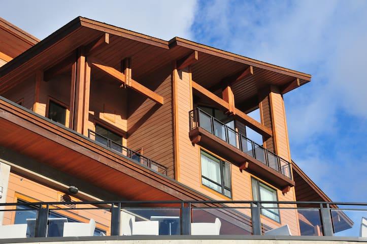 Penthouse Suite at base of gondola