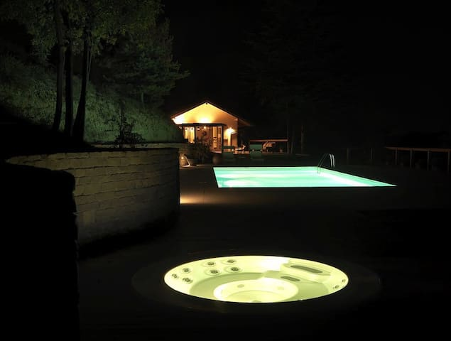 Villa Monte Uccellini  Holiday House - Bistagno - House