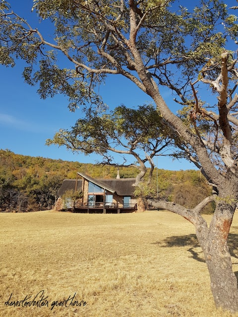 A House in Africa, your own game lodge