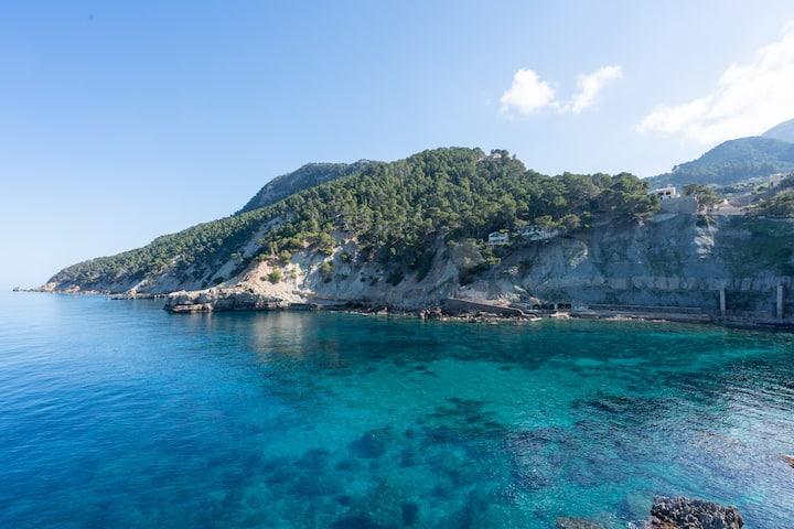 La Cubana, maison. Vues a la montagne et la mer.