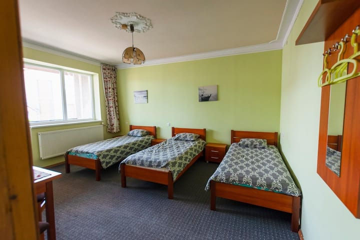 Lovely room for one person in a small family hotel