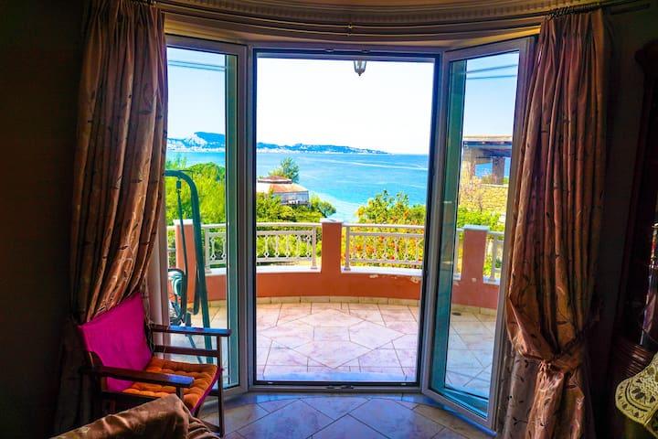 Sea - View Villa in Argassi - Argassi - 別荘