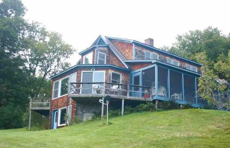 West Newbury Home with Incredible View and History