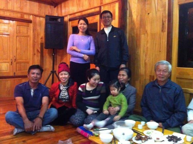 Hong Chung homestay Nghia Lo