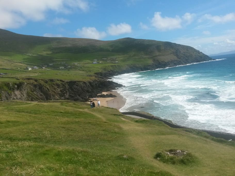 Sleigh Head, on the Dingle peninsula, one hour's drive