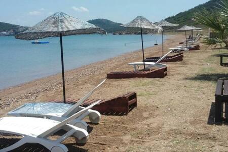Ayvalık Sarımsaklı özel plajl villa - Ayvalık