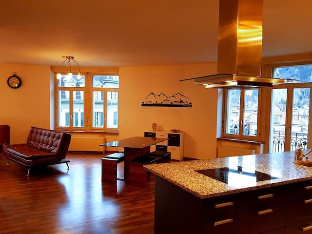 Central Park Höhematte Apartment Savoy